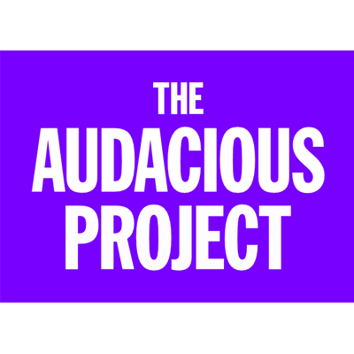 the audacious project logo